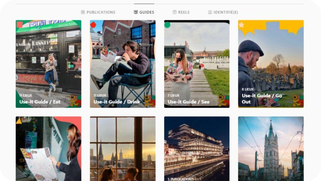 Guide Instagram de Visit Gent