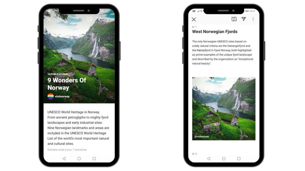 Guide Instagram de Visit Norway